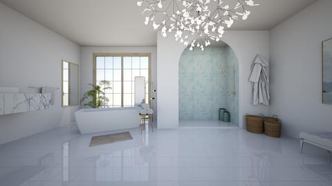 Blue bathroom - Bathroom - by EllaWinberg