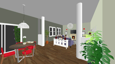 family room - Living room - by maaboels
