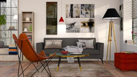 Modern Living - Modern - Living room - by Sally Simpson