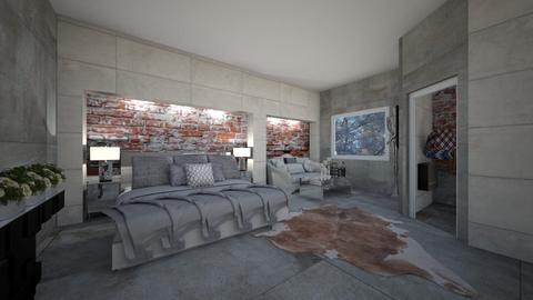 walk in wardrobe - Bedroom - by interiorinterior