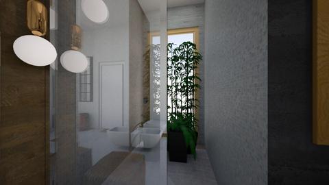 prasnik house bathroom  - Bathroom - by dlhagi