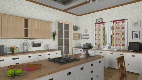 kitchen - Country - Kitchen - by GALE88