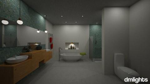 hotel room - Bathroom - by DMLights-user-1133665