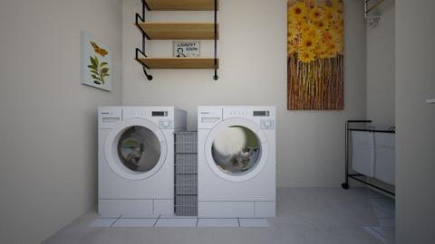 BATH AND LAUNDRY FEB1 - Bathroom - by TeresaDesign