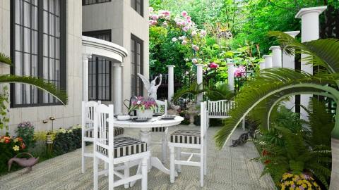 Design 280 Coffee in the Garden - Garden - by Daisy320