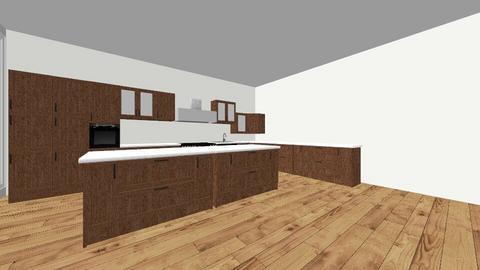 cool kitchen - by hallefran