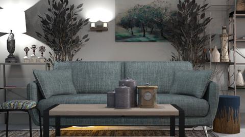Emerald_Forrest - Living room - by ZuzanaDesign