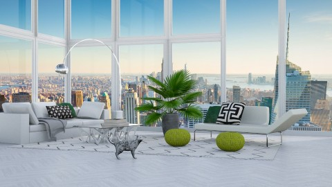 Family Penthouse - Modern - Living room - by bgref