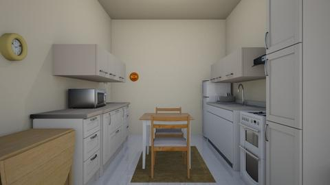 Small Apartment K - Kitchen - by WestVirginiaRebel