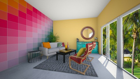Colour Swatch - Living room - by kennyhollis99