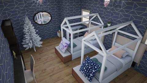my ideal bedroom - Glamour - Bedroom - by Uditi2