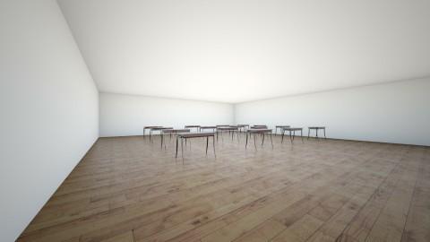 school - by Isabella Mastroianni