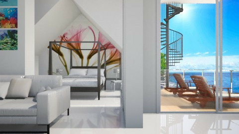 seaside living - Modern - Bedroom - by Chelsea Avelino
