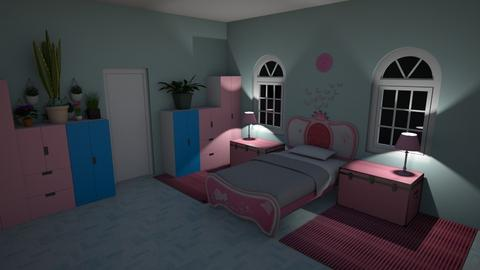 cool room - Bedroom - by Vika100