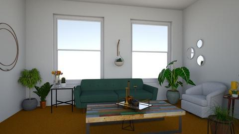 Orange Carpet - Living room - by addison_humes81