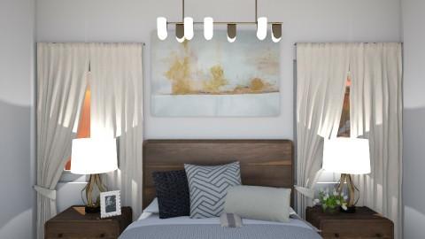 Minimal and Symmetrical - Minimal - Bedroom - by ElieK