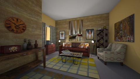 vintage livingroom - Retro - Living room - by kla