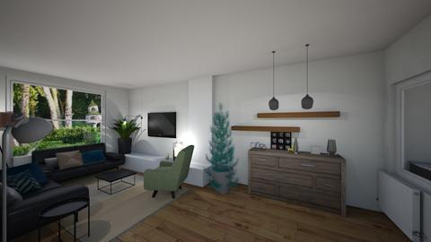 Britt_Simpelveld_II - Living room - by hannekemaenen
