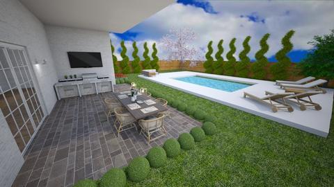 dream backyard - by Alice Connor