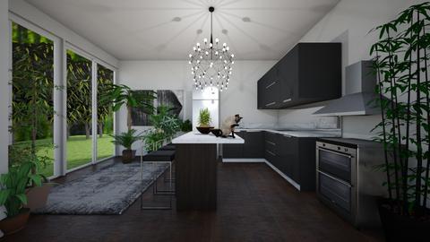 Kitchen - Kitchen - by guineapiglover1