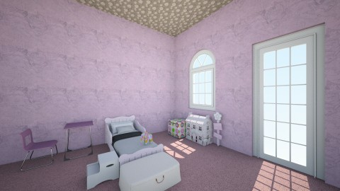 Girl Child Bedroom - Kids room - by WuzKeeily