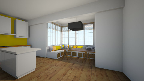 Farmhouse kitchen - Kitchen - by javera123