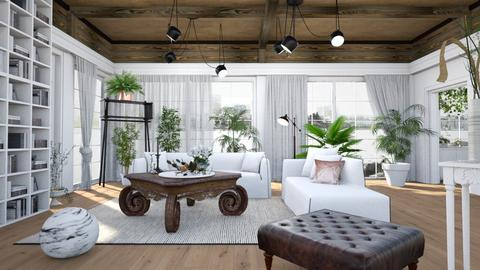 Jungle Class - Classic - Living room - by evahassing