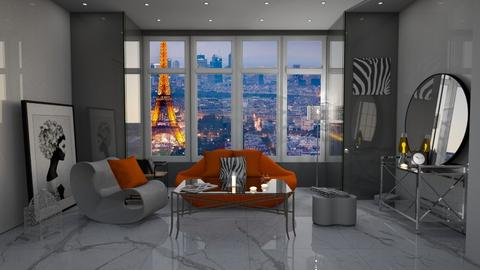 big city life - Modern - Living room - by darcyclayton