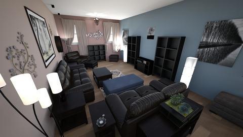 Contemporary Living Rm 8 - Living room - by lioness006
