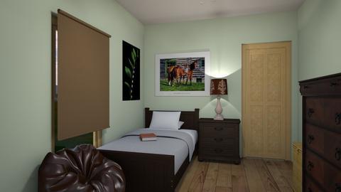 farm bedroom - Rustic - Bedroom - by housekeeper17