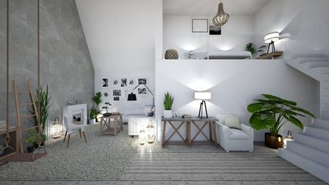 8 - Living room - by Aleksandra Boguta