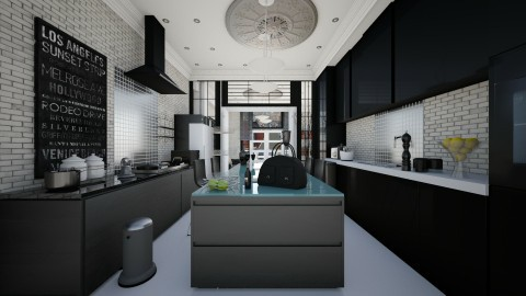 kit 1 - Eclectic - Kitchen - by hammedaamany