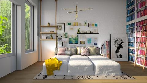 Maximalist Bedroom - Bedroom - by GinnyGranger394