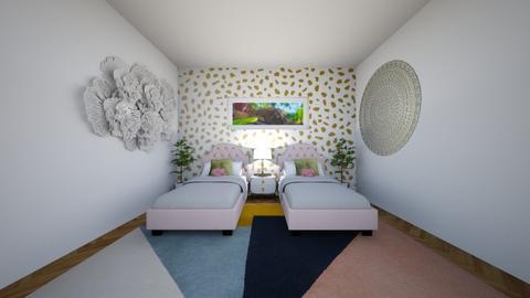 Twins bedroom - Kids room - by SKS419