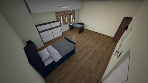 my room - Retro - Bedroom - by MINHTRAN