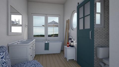 Nautical Bathroom - Bathroom - by lauren_murphy