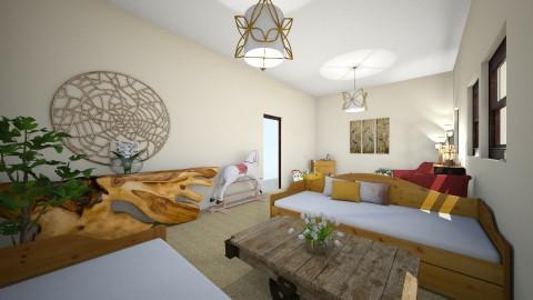 Womans Shelter  Living Room - by 20hvogel