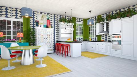Playful Kitchen - Kitchen - by jjp513