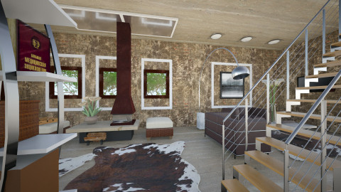 HajDidi - Country - Living room - by Saj Trinaest