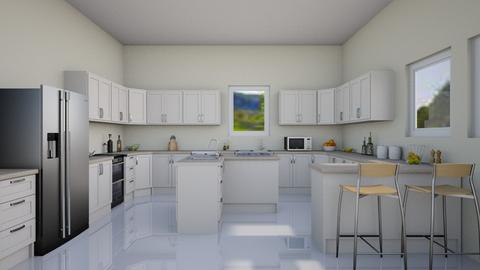 Cheery Kitchen - Modern - Kitchen - by millerfam