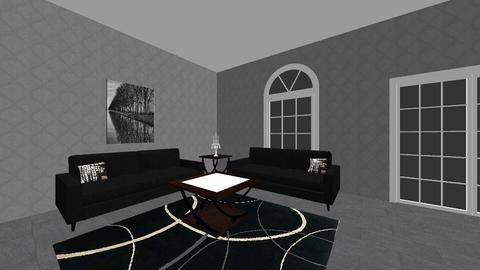 Dark and Light Office - Modern - Office - by CheyLynn2000