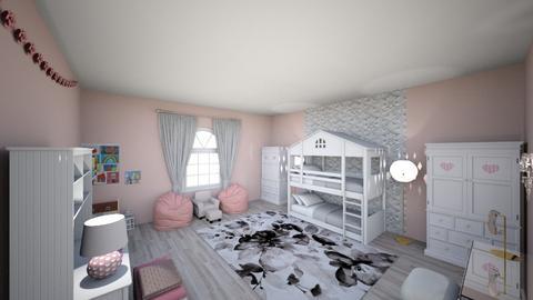 Bedroom for twins - Bedroom - by EllaNaznin