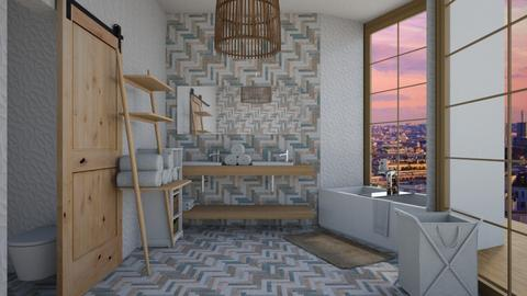 ECLECTIC BATHROOM - Bathroom - by Miss MH