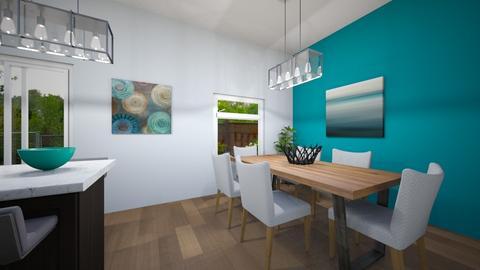 Carmens Aubert - Dining room - by Leslie Enns