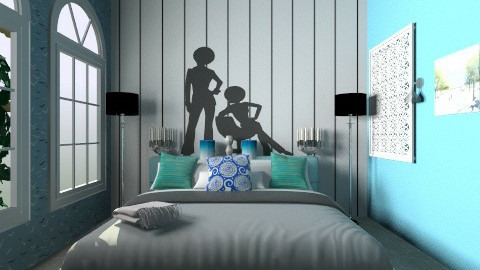 MY ROOM - Modern - Bedroom - by aarish khan