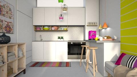 Splash kitchen - by Liu Kovac