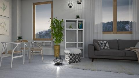 Neutral Tone - Modern - Living room - by millerfam