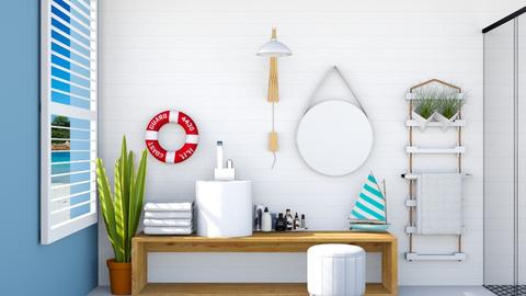 Minimal Nautical - Bathroom - by seth96