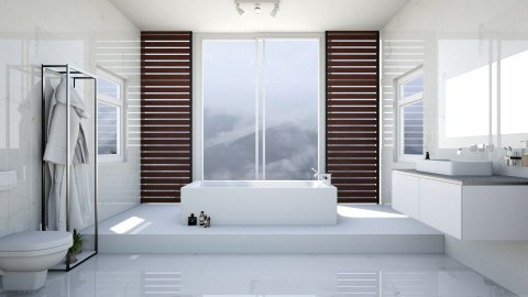 Bathroom 1 - Minimal - Bathroom - by esmeegroothuizen