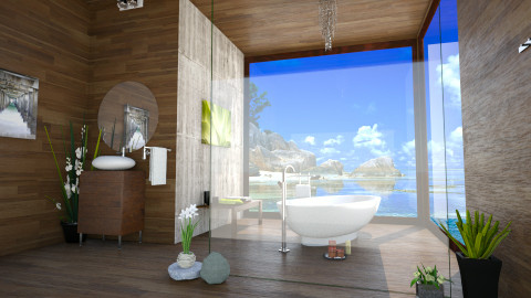 beach vibes - Bathroom - by csurka